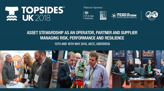 Servelec Controls presents its RtIS solutions to the Topsides UK 2018 Conference